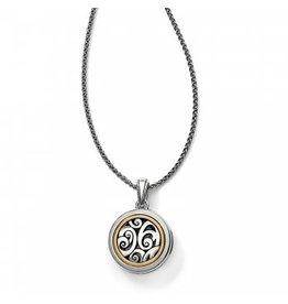 Brighton Spin Master Convertible Locket Necklace