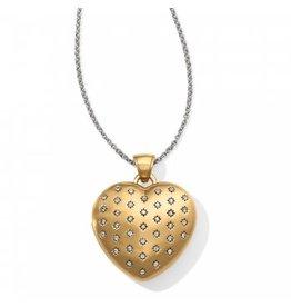 Brighton Sweetheart Convertible Locket Necklace