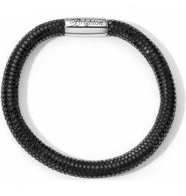 Brighton Black Sparkle Woodstock Single Bracelet S/M