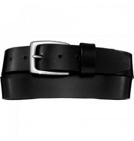 Brighton Beck Black Basic Belt Size 38
