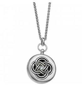 Brighton Interlok Round Locket Necklace