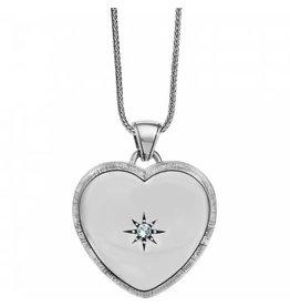 Brighton Bright Morning Star Locket Necklace