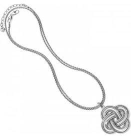Brighton Interlok Spiral Statement Necklace