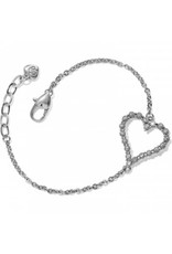 Brighton Twinkle Splendor Heart Bracelet