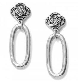 Brighton Interlok Petite Knot Drop Earrings