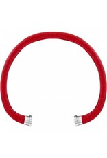 Brighton Color Clique Red Leather Cord S/M