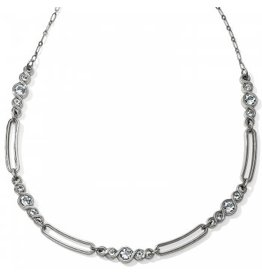 Brighton Infinity Sparkle Link Collar Necklace