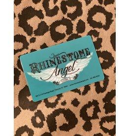 Rhinestone Angel Gift Cards