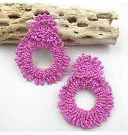 Treasure Jewels Stella Pink Earrings