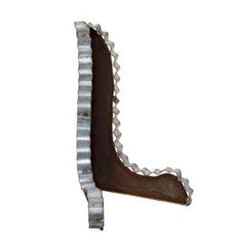 Galvanized/Rust Mini Easel
