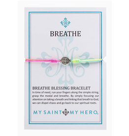 MSMH Breathe Blessing Bracelet Rainbow