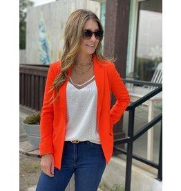 Neon Orange Blazer
