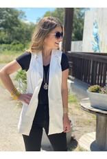 Blazer Vest in White