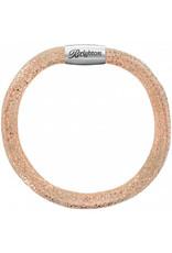 Brighton Woodstock Bracelet - Rose Gold S/M