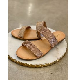 Among Sandal in Penny Rhinestones