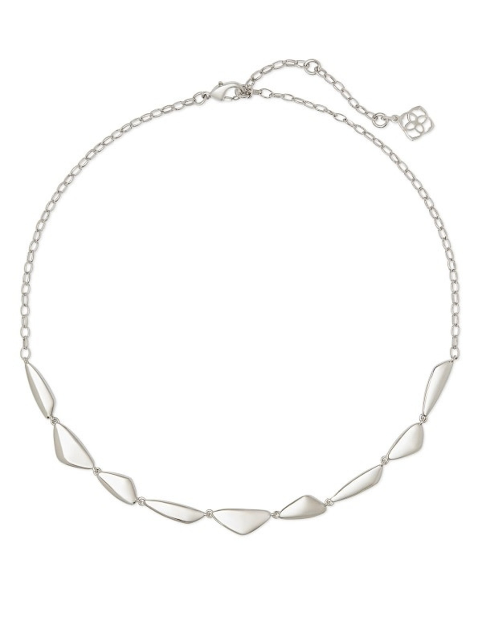 Kendra Scott Kira Short Strand Necklace Silver