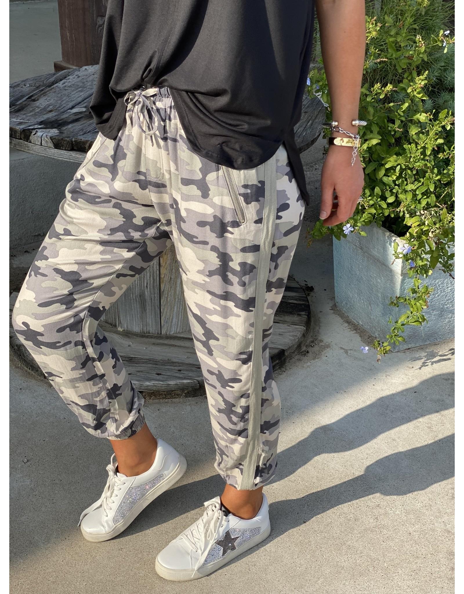 Camo Printed Jogger Pants