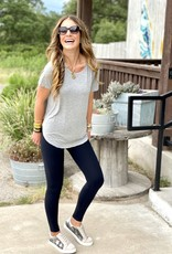 Another Love Heather Grey Tee