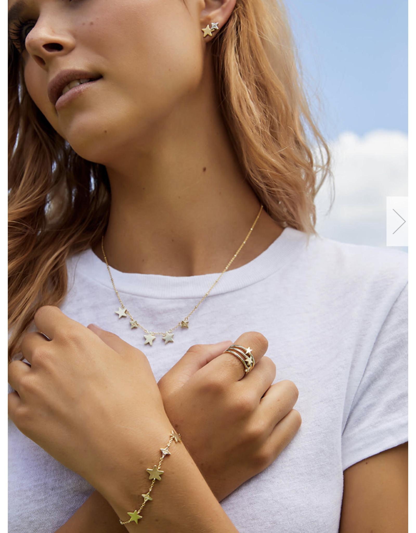 Kendra Scott Jae Star Delicate Bracelet Gold