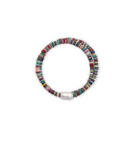 Kendra Scott Reece Wrap Bracelet Silver Neutral Mix