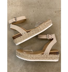 Crystal Clear Natural Sandal