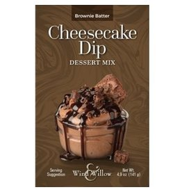 Wind Willow Brownie Batter Cheesecake Dip Mix