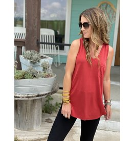 Another Love Esther Sleeveless Cherry Tank