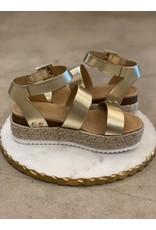 Bryce Gold Sandal