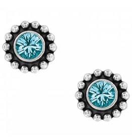 Brighton Blue Zircon Twinkle Mini Earrings