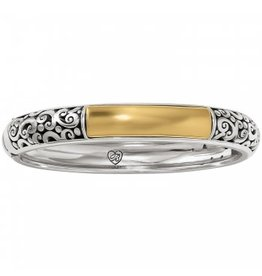 Brighton 2-Tone Catania Hinged Bangle