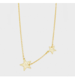 Gorjana Super Star Necklace Gold