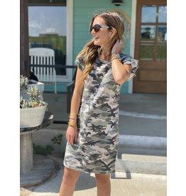 Olive Camo Dress