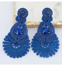 Treasure Jewels Sammy Navy Earring