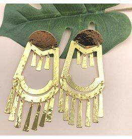 Treasure Jewels Aztec Earrings