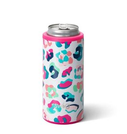 Swig 12oz Skinny Can Cooler -- Party Animal