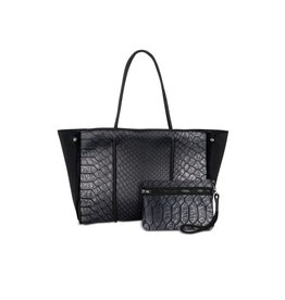 Haute Shore Greyson Smoke - Black Croco & Velvet