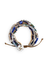 Your Journey Prayer Bracelet in Indigo