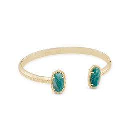 Kendra Scott Elton Gold Dark Teal Amazonite