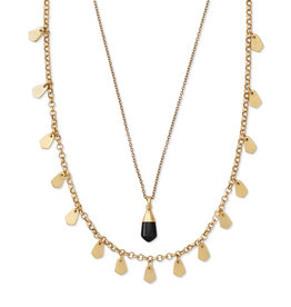 Kendra Scott Freida Multi V. Gold Obsidian