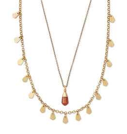 Kendra Scott Freida Multi Gold Burnt Sienna