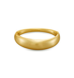 Kendra Scott Kaia Bangle Vintage Gold Metal