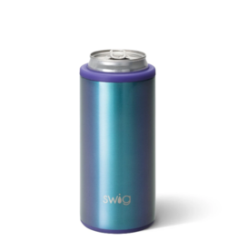 Swig 12oz Skinny Can Cooler -- Mermazing