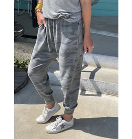 Olive Camo French Terry Pants