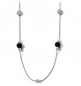 Brighton Meridian Prime Black Long Necklace