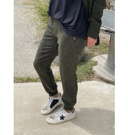 Dear John Jourdan Joggers in Pine Leopard