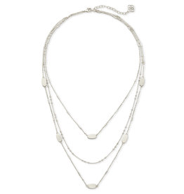 Kendra Scott Fern Triple Strand in Silver