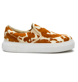 Matisse Gradient Brown & White Cowhide Sneakers