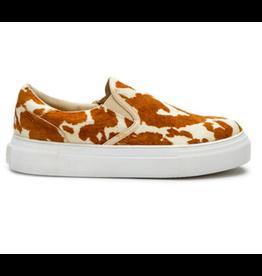 Matisse Gradient Brown & White Cowhide Sneakers