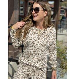 Leopard Long Sleeve Sweatshirt