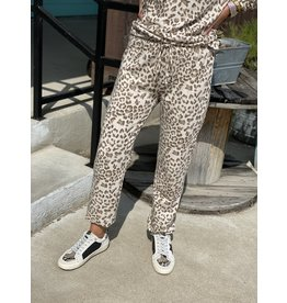 Leopard Light-Weight Jogger Pants